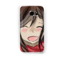 Ayano's Theory Of Happiness Project Digital Painting (Anime) Samsung Galaxy Case/Skin