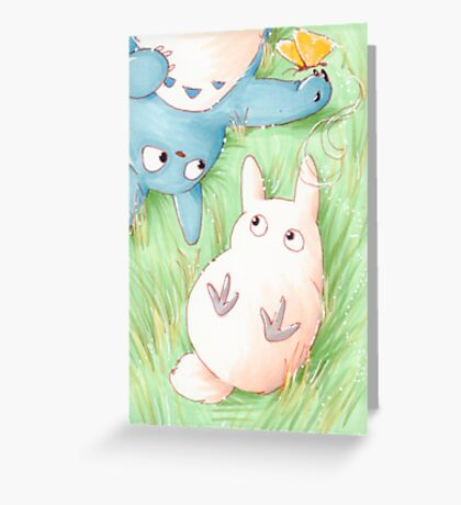 Totoro Lazy Day ! [UltraHD] Greeting Card
