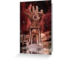 The Sky Lord's Palace Greeting Card