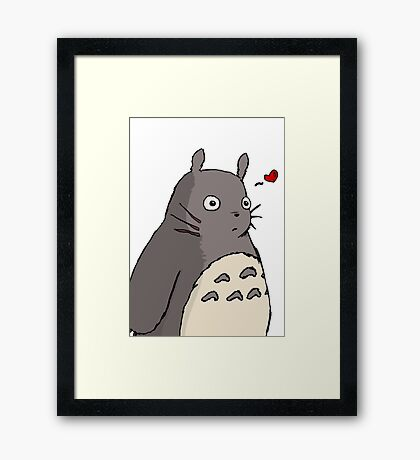 My Neighbour Totoro ! [UltraHD] Framed Print