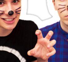 Dan and Phil Sticker