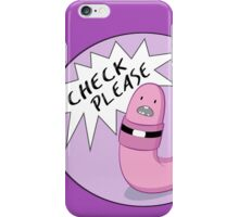 Check Please iPhone Case/Skin