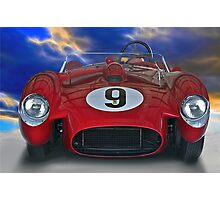 1958 Ferrari 250GT Testa Rossa I 'Head On' Photographic Print