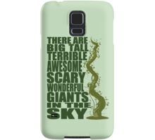 There Are Giants in the Sky! Samsung Galaxy Case/Skin