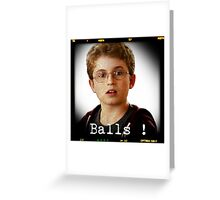 Balls! Greeting Card