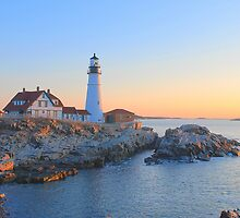 Portland Head Light - Portland Maine by Howard Simpson