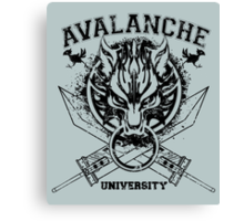 Avalanche University FVII v2 Canvas Print