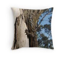 Varanus Varius Throw Pillow