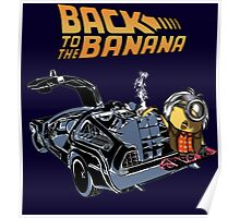 Back To The Banana Poster
