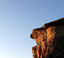 Lovely Rock Scenery at Golden Gate National Park, Free State Province, South Africa by Qnita