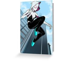 Spider-Gwen Greeting Card