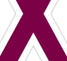 Multiple Myeloma Awareness ribbon Sticker