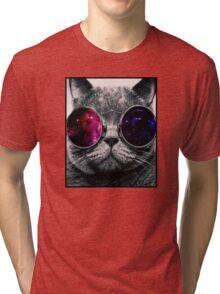Cat Tri-blend T-Shirt