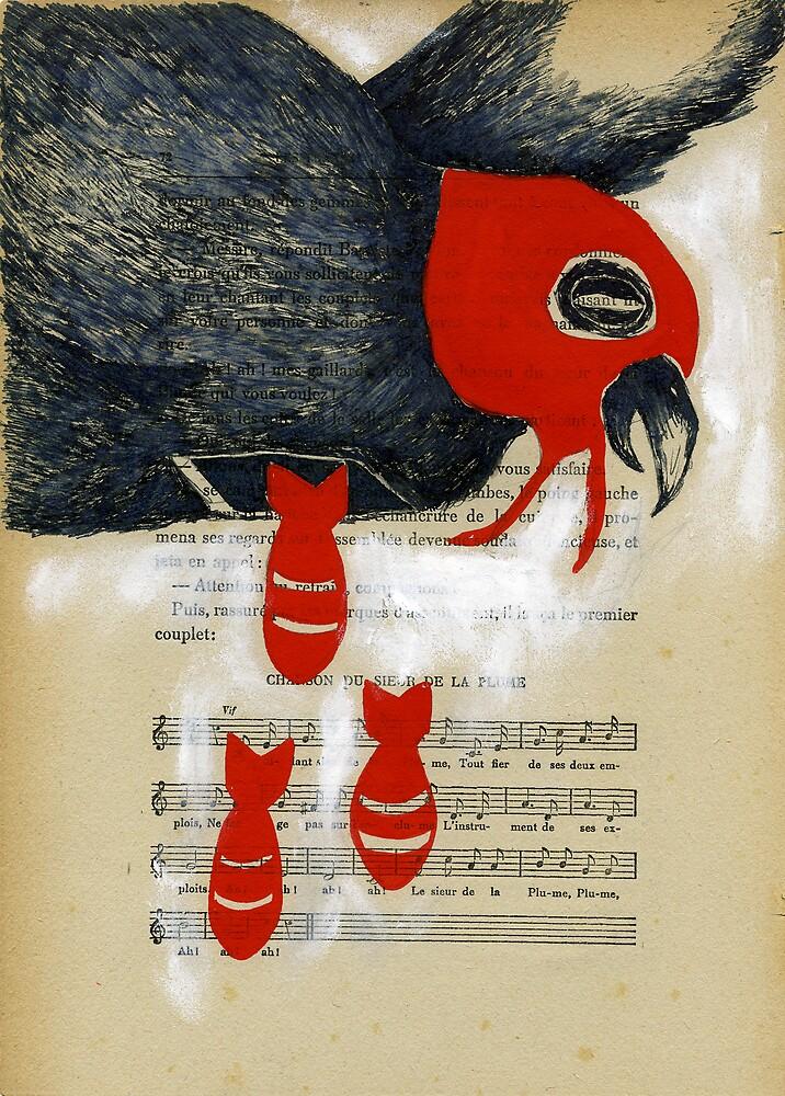 Closure Bomb Bird by benconservato
