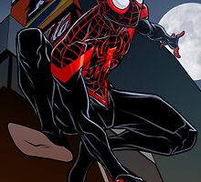 Ultimate Spider-Man by dlxartist