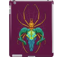 Bright Spider Skull iPad Case/Skin