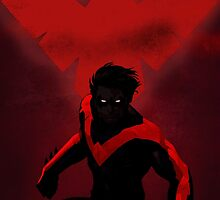 Red Nightwing  by Holly Jane