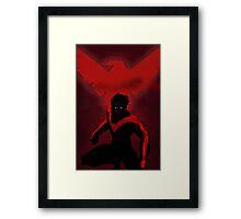 Red Nightwing  Framed Print