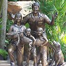 The Irwins in Bronze by judygal