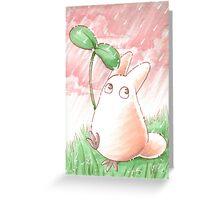 Totoro Flower [UltraHD] Greeting Card