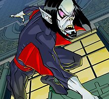 Morbius the living vampire by dlxartist