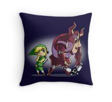 Big Zelda 6 Throw Pillow
