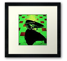 Four in the Morning Framed Print