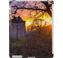Sunset over Castle Campbell iPad Case/Skin