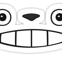 Totoro face annmal ! [UltraHD] Sticker