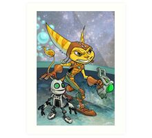 Ratchet and Clank Art Print