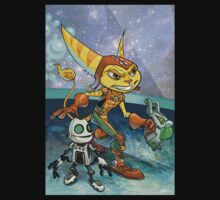 Ratchet and Clank Kids Clothes
