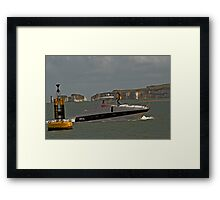 Just Cruising Framed Print