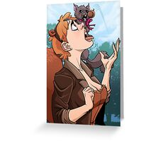 Squirrel Girl Greeting Card