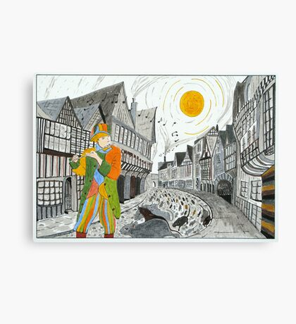 'The Pied Piper of Hamelin' Canvas Print