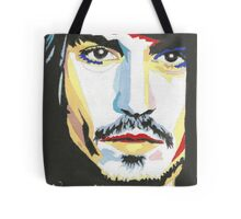 Johnny Depp, 1st painting. Tote Bag