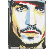 Johnny Depp, 1st painting. iPad Case/Skin