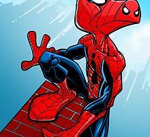 Spider-Ham by dlxartist