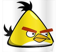 Quick Yellow AngryBird ! [UltraHD] Poster