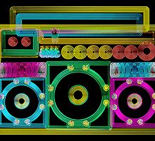 GhettoBlaster by johnsun