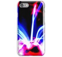 Purple plasma  iPhone Case/Skin