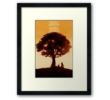 Iroh's tale Framed Print