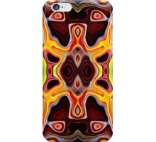 Faces In Abstract Shapes 5 iPhone Case/Skin