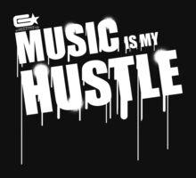 ghettostar music hustle WHITE by ghettostar
