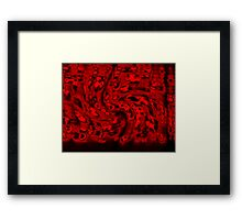 Vampyre Buffet Framed Print