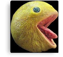 Realistic Pac Man Canvas Print