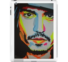 Johnny Depp, 2nd painting. iPad Case/Skin