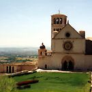 The Basilica, Assisi by Barry Thomas