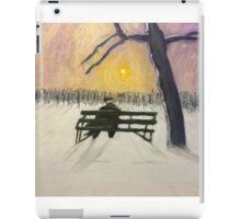 Lonely Sunset  iPad Case/Skin