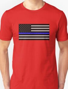 The Thin Blue Line Blessed Are the Peacemakers T-Shirt