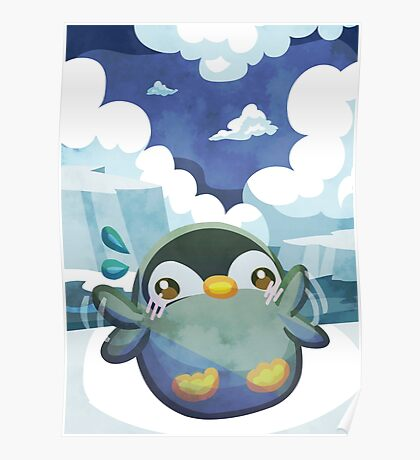 Cute Penguin Poster